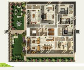Penthouse 840m²