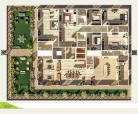Penthouse 1170m²