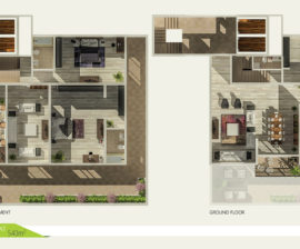 Duplex 540m²