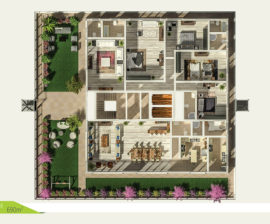 Penthouse 690m²