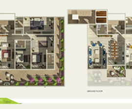 Duplex 738m²